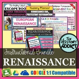Renaissance Era Interactive Notebook Instructional Bundle