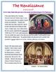 """The Renaissance - An Overview"" + Power Point, Activities, Assessments"