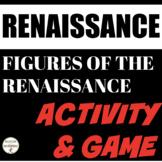 Renaissance Figures Center Activity and Game