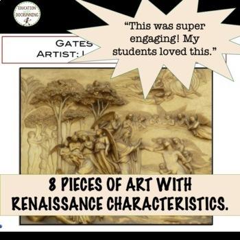Renaissance Gallery Walk Activity to introduce art of the Renaissance