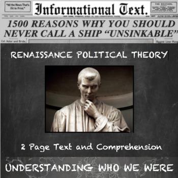 Renaissance Government