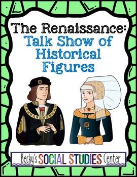 Renaissance Group Activity - Student Talk Show