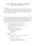 Renaissance Handouts and Study Questions