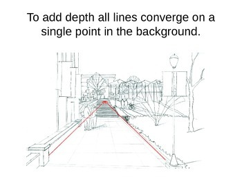 Renaissance History through Art: One-Point Perspective