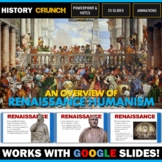 Renaissance Humanism - PowerPoint with Notes Copy (Works with Google Slides)