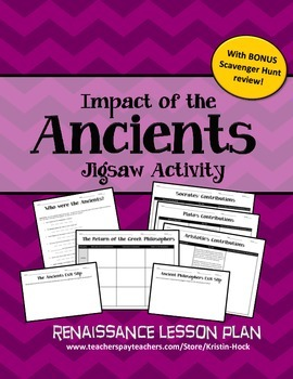 Renaissance - Impact of the Ancients Jigsaw