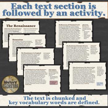 Renaissance Informational Text Bundle