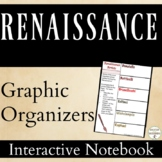 Renaissance Color Interactive Notebook Pages Graphic Organizers for Renaissance
