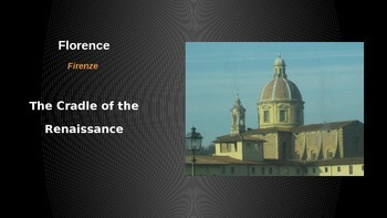 Renaissance Introduction - A Florence Slideshow
