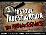 Renaissance Investigation History Lesson Stations or Presentation