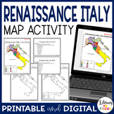 Renaissance Italy: City States Map Lesson and Assessment (