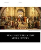 Renaissance Italy Unit