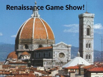 AP Euro Jeopardy! Renaissance Edition