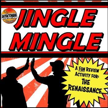 Renaissance Jingle Mingle Fun Class Review Activity