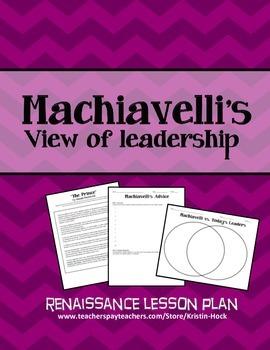 Renaissance - Machiavelli