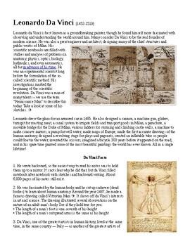 Middle Ages: Renaissance Man Leonardo Da Vinci