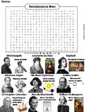Renaissance Men Word Search