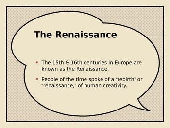 Renaissance Music Introduction - PowerPoint Version