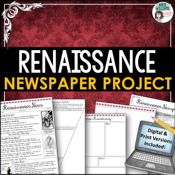 Renaissance Newspaper Activity
