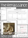 Renaissance Notes & Activity