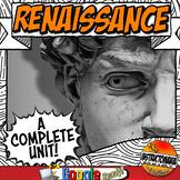 Renaissance Unit Plan Common Core Activity & Note Bundle