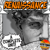 Renaissance Unit Plan Common Core Activity & Note Bundle