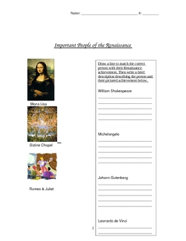 Renaissance Packet