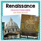 Renaissance Photograph Posters Pieta David St. Peters Basilica
