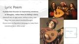 Renaissance Poetry Unit Powerpoint
