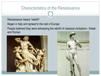 Renaissance Powerpoint with Built in Activities