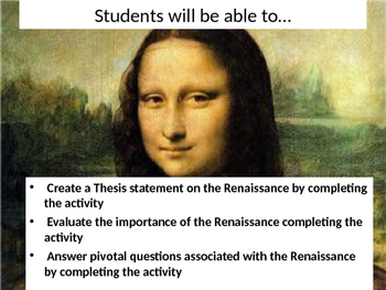 Renaissance Project -Common Core PP