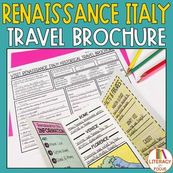 Renaissance Project - Historical Travel Brochure