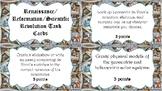 Renaissance/Protestant Reformation/Scientific Revolution E