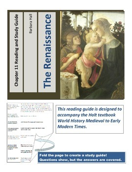 Renaissance Reading and Study Guide