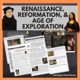 Renaissance, Reformation, & Age of Exploration Bundle: Dis