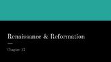 Renaissance & Reformation Power Point Presentation