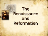 Renaissance\Reformation Powerpoint Honors