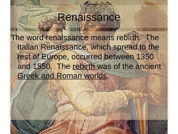 World / European History -Renaissance, Reformation and Exploration Bundle