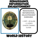 Renaissance, Reformation, and the Enlightenment World History