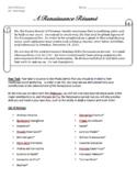 Renaissance Résumé Project