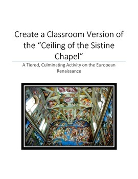 Renaissance Review: A Classroom Version of the Ceiling of the Sistine Chapel