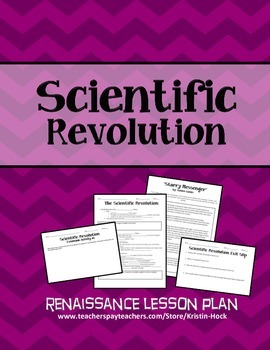 Renaissance - Scientific Revolution