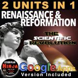 Renaissance/Scientific Revolution Unit Bundled 2 Units in 1
