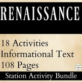 Renaissance Station Activity Bundle  UPDATED