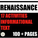 Renaissance Activities Bundle