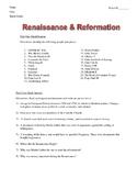 Renaissance Study Guide