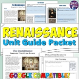 Renaissance Study Guide and Unit Packet