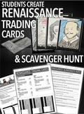 Renaissance Trading Card Project & Scavenger Hunt