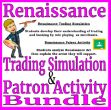 Renaissance Trading and Art Activity BUNDLE - Distance Learning Compatible
