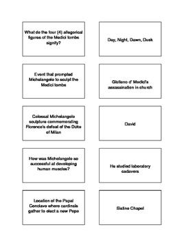 Renaissance Trivia Game